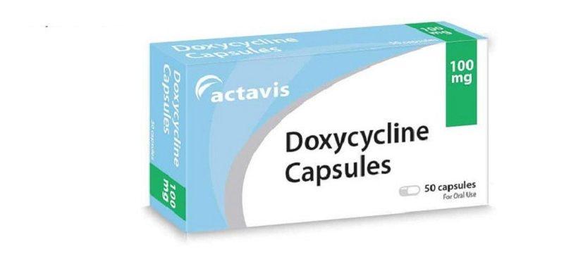 Doxycycline thuốc trị mụn trứng cá hiệu quả