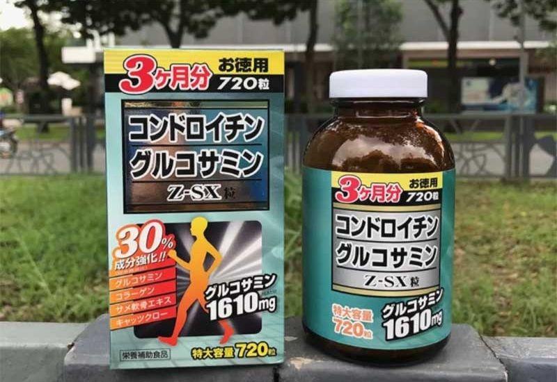Sản phẩm Jpanwell Glucosamine Chondroitin Z-SX hỗ trợ điều trị thoái hóa khớp