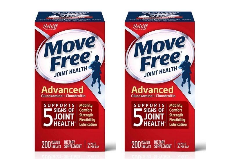 Viên uống hỗ trợ cho sức khỏe xương khớp Schiff move free Advanced Triple Strength