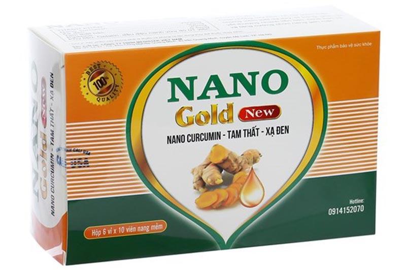 Nano Gold New - Thuốc chữa viêm loét dạ dày tá tràng