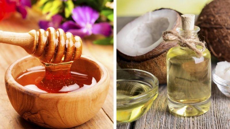 Chăm sóc da hiệu quả bằng mật ong dầu dừa