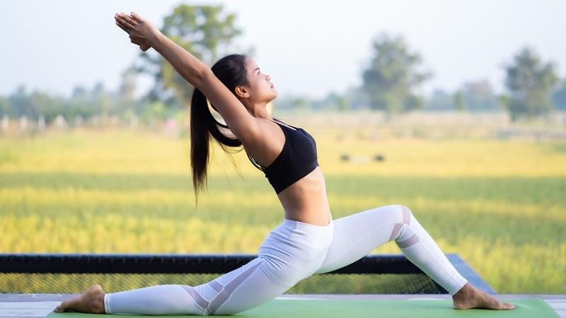 Tập thể dục điều độ và luôn giữ tinh thần thoải mái