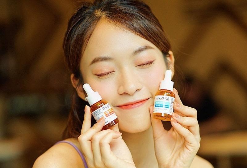 Vitamin C có công dụng rất tốt trong việc làm đẹp da