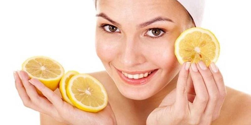 Có thể ử dụng chanh để bổ sung vitamin C cho da