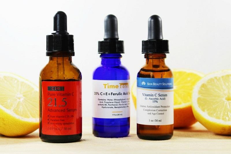 Serum chứa vitamin C là dòng mỹ phẩm rất phổ biến