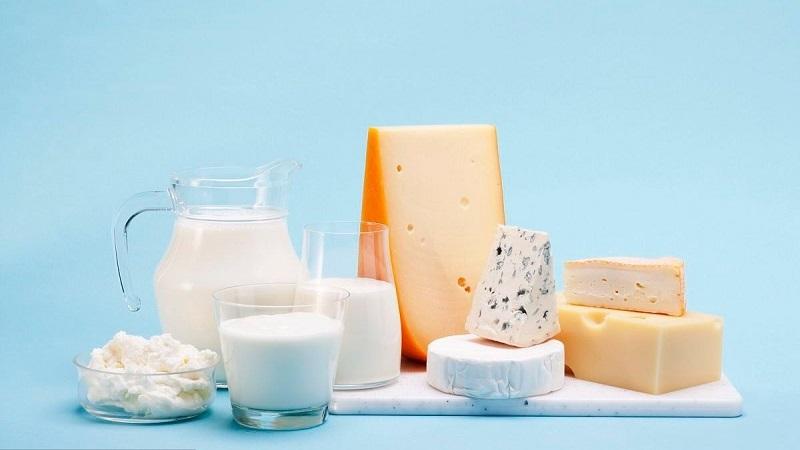 Ăn uống gì để tăng chiều cao - Sữa và các chế phẩm từ sữa
