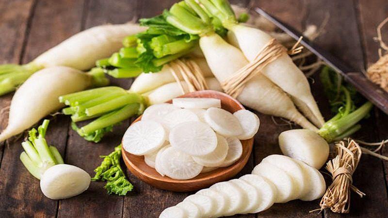 Củ cải trắng là bí quyết dưỡng trắng da của mỹ nhân Trung Quốc