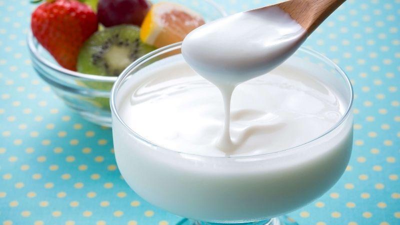 Sữa chua cải thiện tốt các vấn đề về da