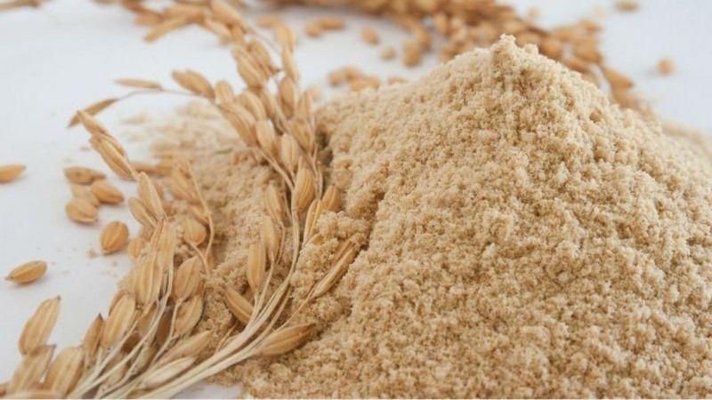 Tắm trắng bằng bột cám gạo