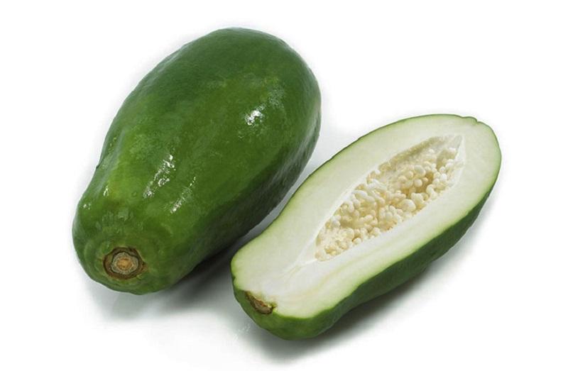 Đu đủ xanh được dùng để chữa bệnh trĩ rất phổ biến