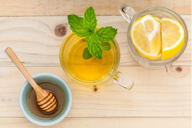Sử dụng hỗn hợp mật ong, bạc hà và chanh còn có tác dụng cải thiện hệ tiêu hóa, giảm căng thẳng