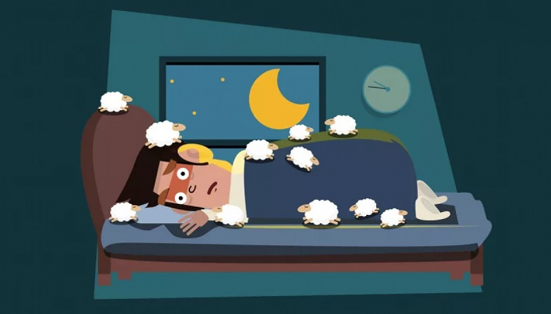 Bạn hãy tưởng tượng ra những con cừu trên nông trại, thư giãn cơ thể để đi vào giấc ngủ nhanh nhất