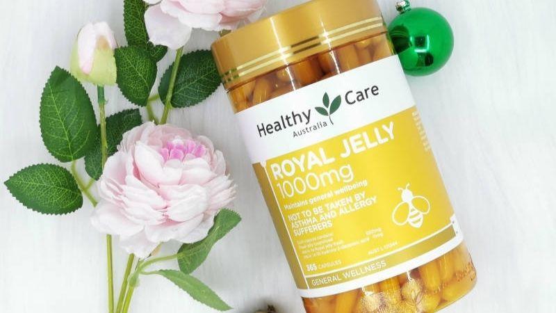 Sử dụng viên sữa ong chúa Healthy Care giúp giảm nám da
