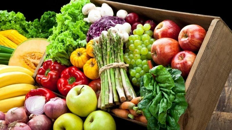 Sử dụng nhiều rau củ quả để cải thiện làn da