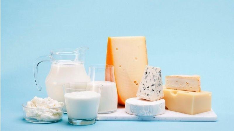 Bổ sung canxi từ các loại sữa