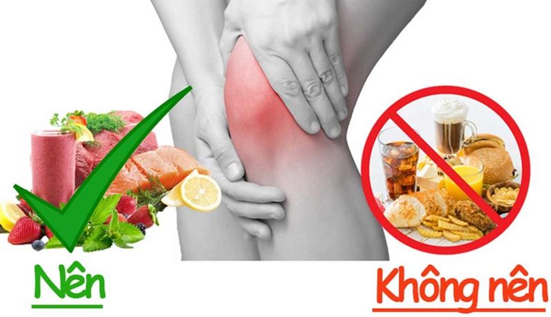 Thoái hóa khớp gối nên ăn gì để cải thiện tình trạng bệnh là thắc mắc của rất nhiều người