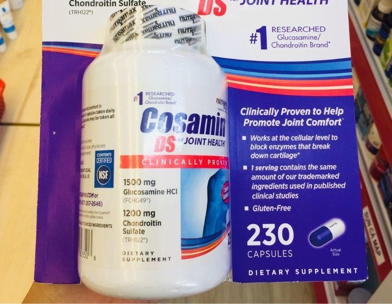 Cosamin DS For Joint Health chăm sóc sức khỏe người bệnh xương khớp rất tốt