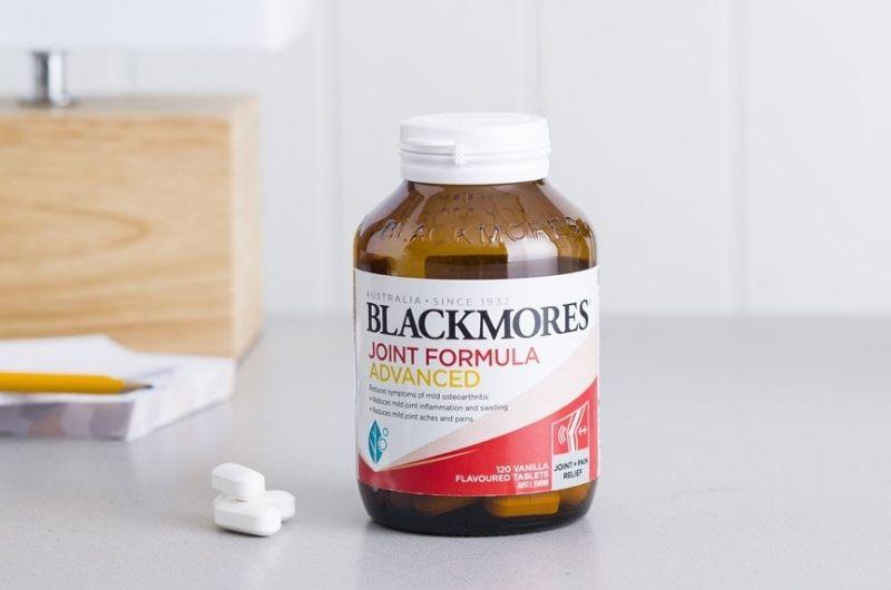 Blackmores Joint Formula Advanced hỗ trợ rất tốt cho bệnh xương khớp