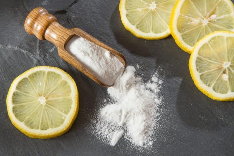 Kết hợp Baking Soda với chanh