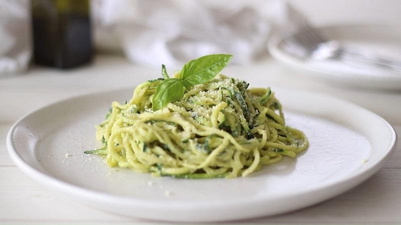 Thực đơn giảm cân không hề nhàm chán với món mỳ Ý vị bơ