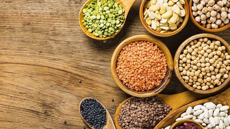 Các loại đậu là những thực phẩm rất giàu chất xơ cùng vitamin