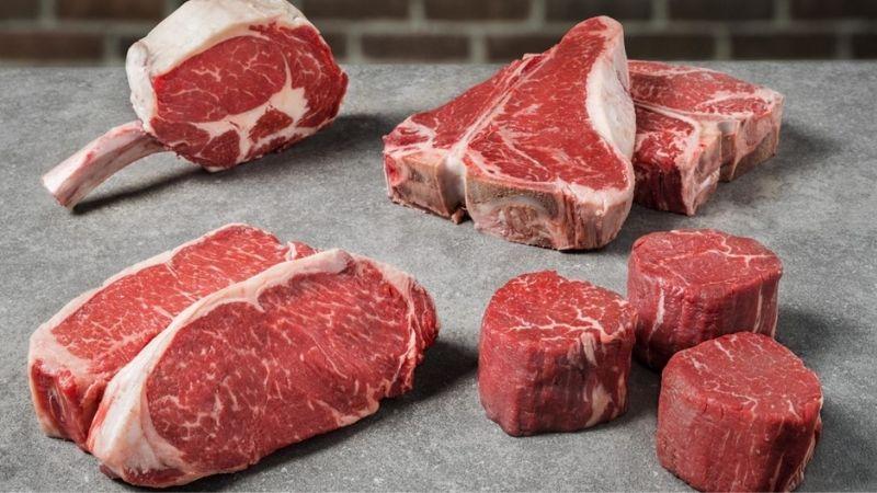 Sử dụng thịt bò thường xuyên là cách ăn tăng cân rất tốt