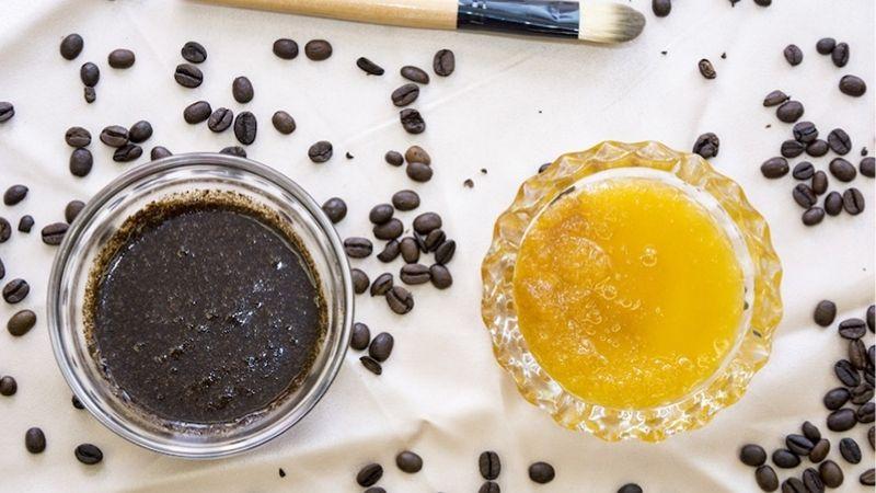 Cách làm trắng da bằng mật ong và cà phê cực hiệu quả và an toàn