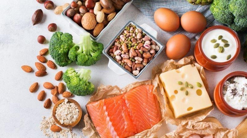 Đảm bảo đồ ăn có lượng calo cao