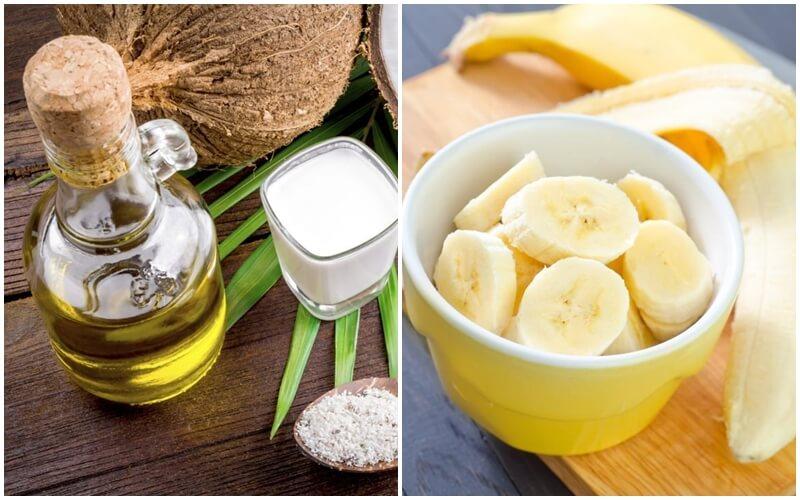 Công thức trị nám da bằng dầu dừa và chuối chín an toàn, hiệu quả