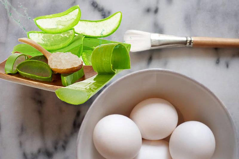 Cách trị nám bằng nha đam và trứng gà hiệu quả, an toàn