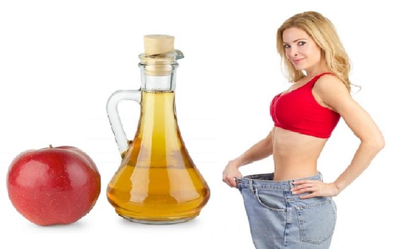 Giấm táo chỉ có tác dụng hỗ trợ giảm cân