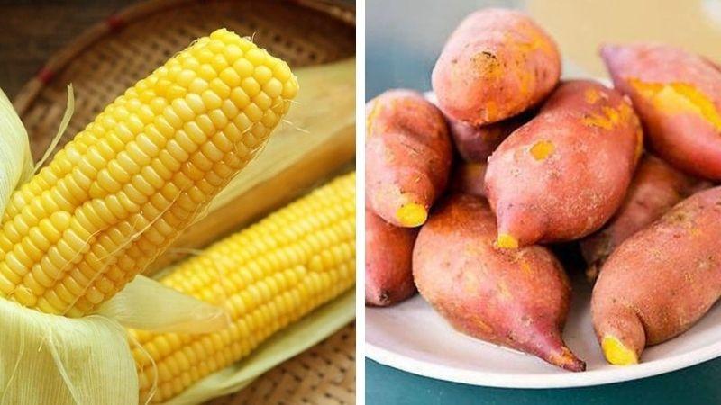 Khá nhiều người chọn cách ăn khoai cùng ngô