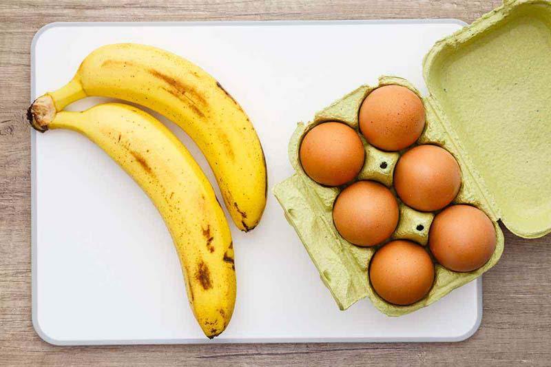 Khi kết hợp chuối và trứng, chị em sẽ đánh tan mỡ thừa nhanh chóng