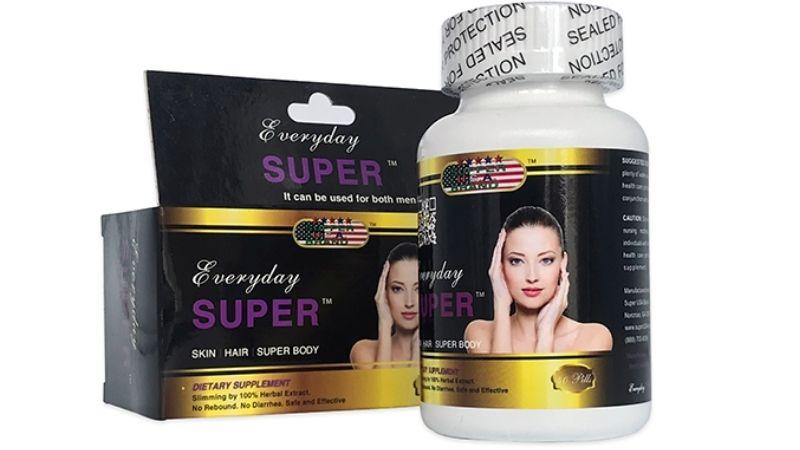 Everyday Super là sản phẩm giảm cân rất nổi tiếng của Mỹ