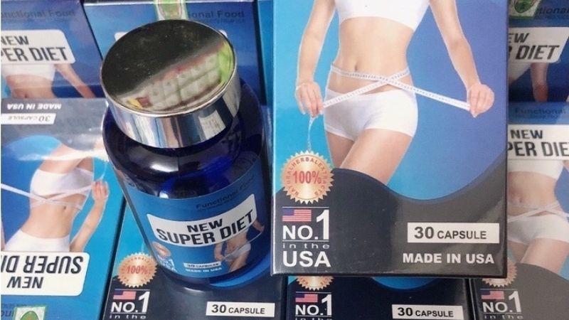 New Super Diet có sức cạnh tranh lớn trên thị trường sản phẩm giảm cân của Mỹ