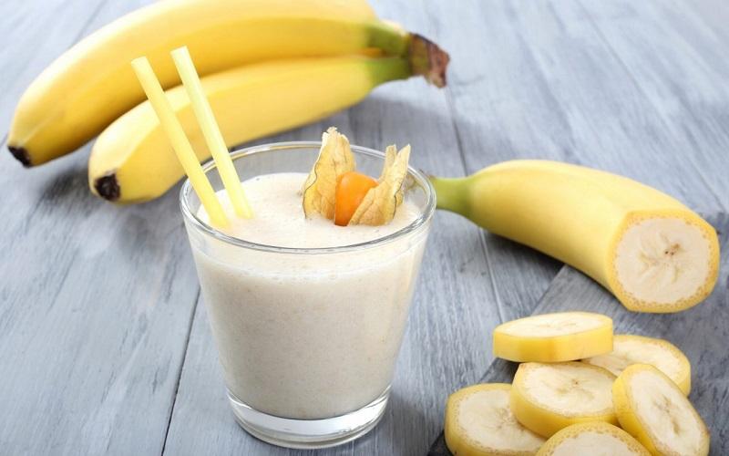 Mỗi ngày 1 cốc sinh tố chuối sẽ giúp giảm cân hiệu quả
