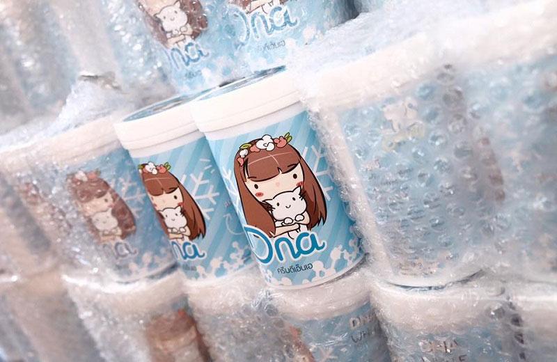 DNA White Body Cream - Kem dưỡng trắng da toàn thân số 1 Thái Lan