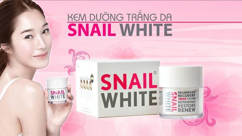 Snail White Body - Dòng kem body trắng da Thái Lan được ưa chuộng bậc nhất