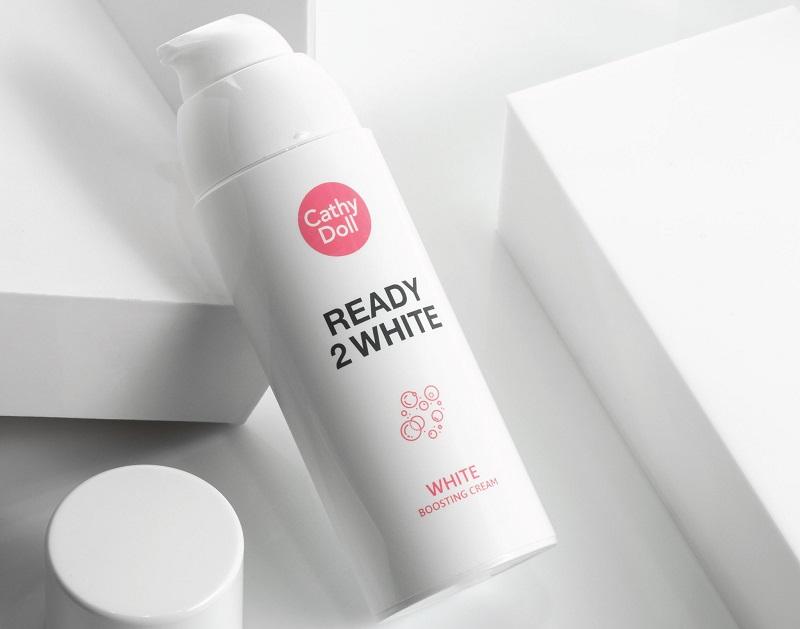 Cathy Doll Ready 2 White Boosting Cream mang đến hiệu quả dưỡng trắng tốt nhất