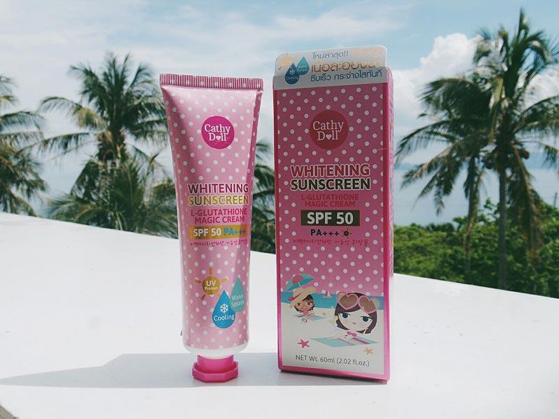L-Glutathione Magic - Loại kem body trắng da Thái Lan từ thương hiệu Cathy Doll