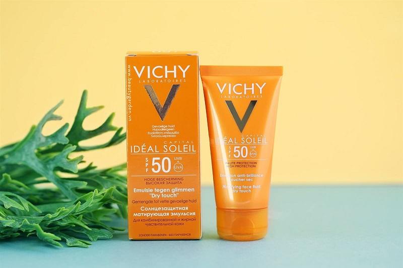 Kem chống nắng giúp trắng da Vichy Idéal Capital Soleil SPF50