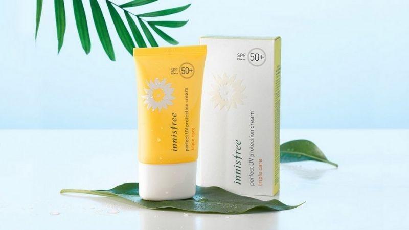 Có rất nhiều chị em yêu thích kem chống nắng trắng da Innisfree Perfect UV Protection Cream