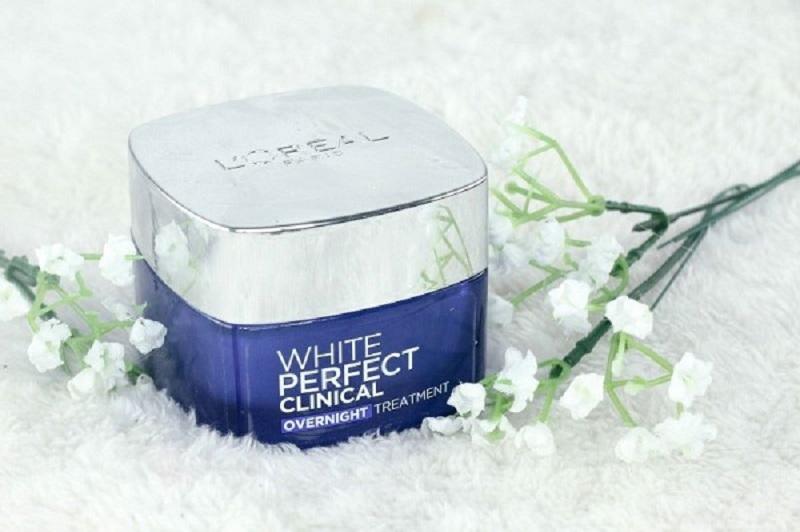 Kem dưỡng L'Oreal Paris White Perfect Night Cream ban đêm cho da dầu