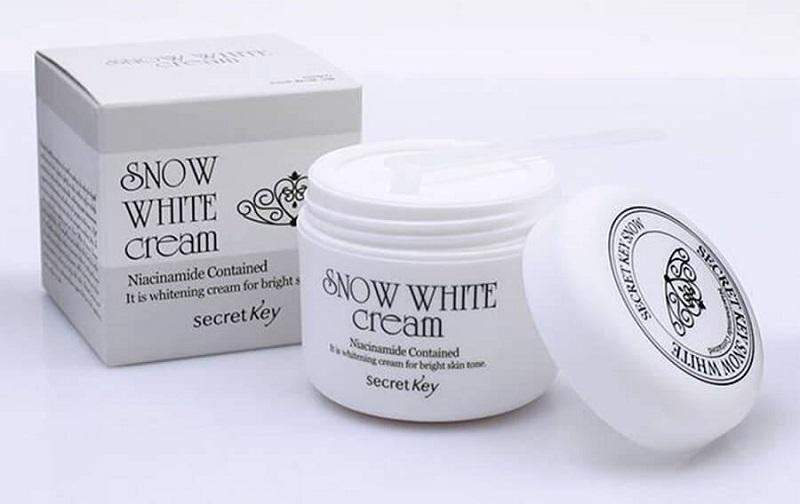 Kem dưỡng trắng cho da dầu Snow White Milky Cream