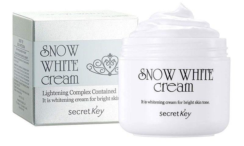 Snow White - Dòng kem dưỡng trắng da toàn thân Hàn Quốc