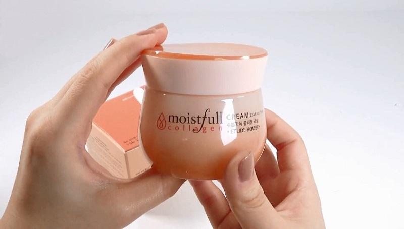 Kem dưỡng trắng da toàn thân Hàn Quốc Etude House Moistfull Collagen Cream