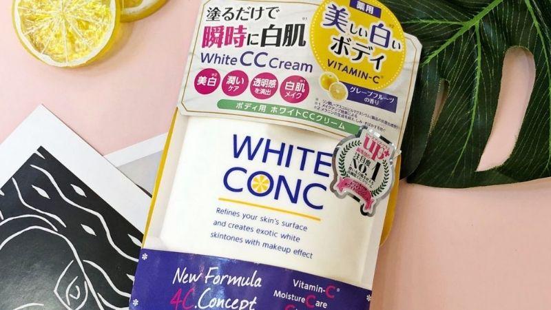 White Conc CC Cream là sự lựa chọn của rất nhiều chị em hiện nay