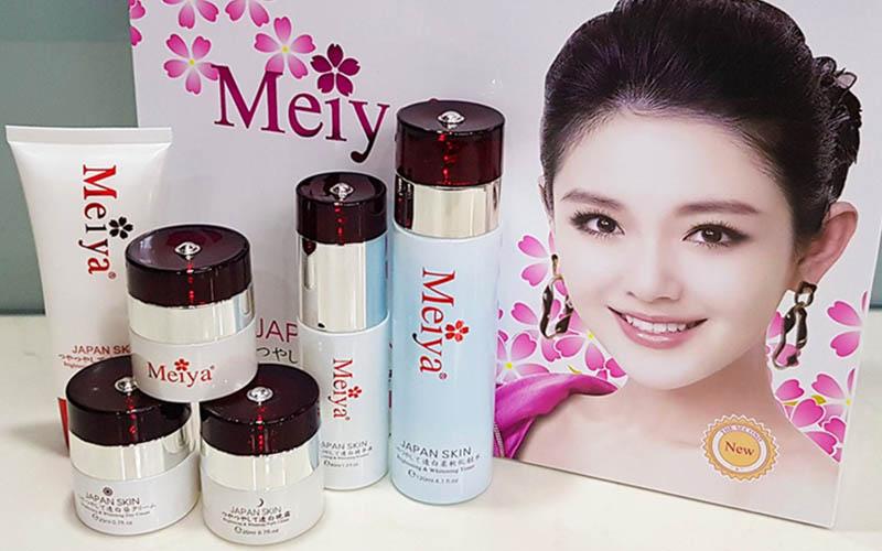 Bộ sản phẩm của thương hiệu Meiya