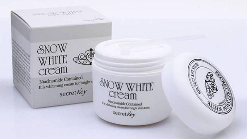 Chăm sóc da hiệu quả với Snow White Milky Cream