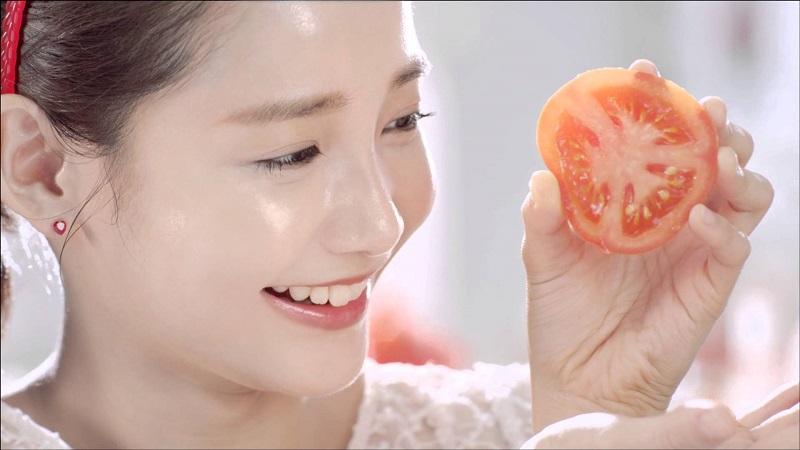 Cà chua có chứa rất nhiều vitamin A, E và C